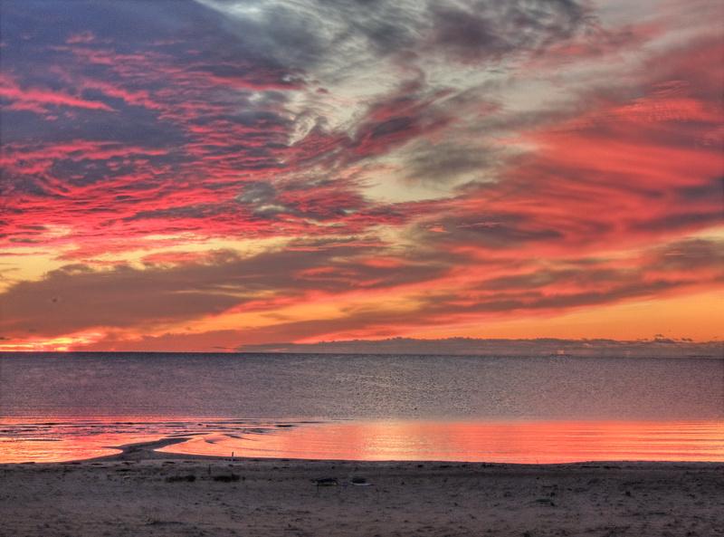 Sunrise over Thunder Bay